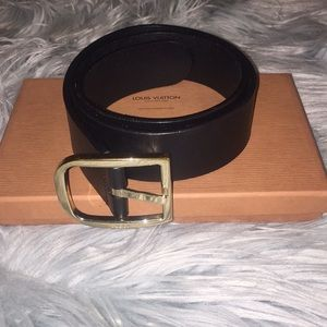 💯% Authentic Black Gucci Belt